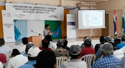 36.000 indígenas Chaco Central tendrán agua potable