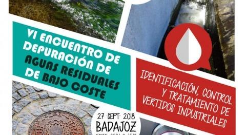 Expertos tratamiento aguas abordarán Badajoz control vertidos industriales