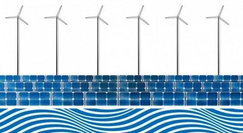 energía solar y eólica contribuyen al uso sostenible aguas subterráneas