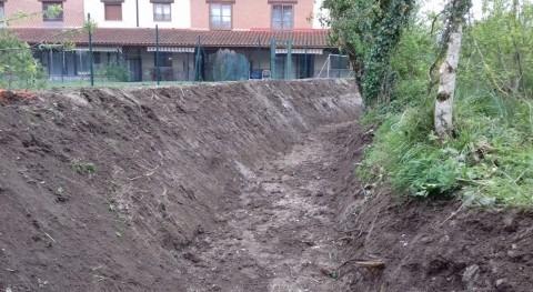 URA restaura tramo arroyo Zabala paso Araia