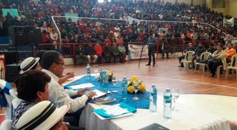 población provincia ecuatoriana Bolívar recibe más autorizaciones uso agua