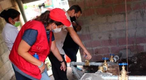 Avances proyecto apoyo sistemas agua potable comunidades rurales Salvador