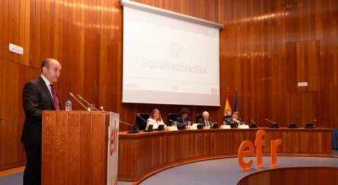 Aqualia recibe sello efr compromiso conciliación