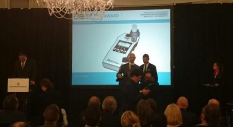 BIÓTICA, premio al Producto Innovador sistema detección rápida Legionella