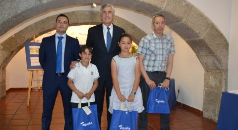 Ávila entrega premios Concurso internacional dibujo infantil Aqualia