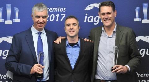 Antonio García Pastrana e Ignasi Serviá comparten Premio iAgua Influencers Año