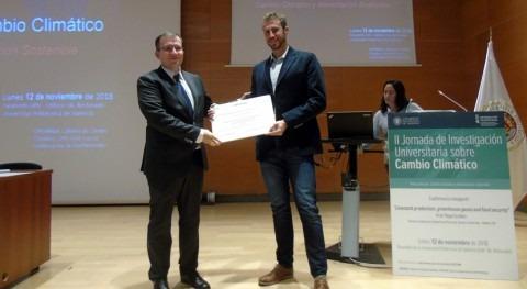 Ignacio Buesa, ganador premio mejor tesis doctoral Cátedra Cambio Climático