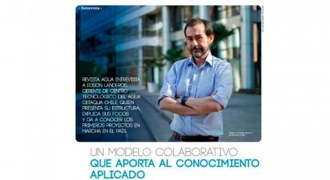 Edson Landeros, gerente Cetaqua Chile, explica retos ciclo integral agua Chile