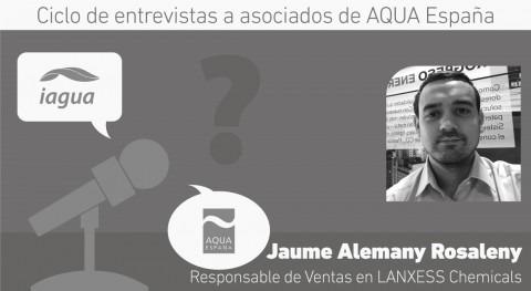 """Jaume Alemany: """" industria necesita optimizar agua que dispone"""""""