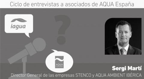 """Sergi Martí: """" nuevas tecnologías permitirán adaptarse mejor gestión integral agua"""""""