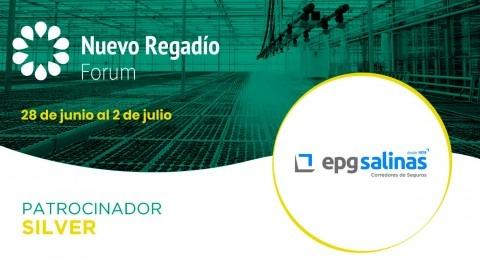 EPGSalinas, especialista soluciones aseguradoras, es Silver Sponsor Nuevo Regadío Forum