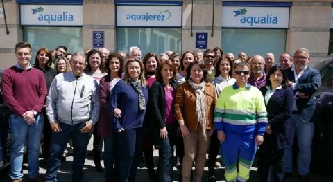 Aquajerez obtiene incentivos Seguridad Social buena gestión prevención laboral
