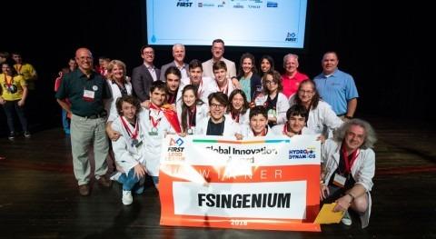 equipo español, asesorado Fundación Aquae, gana GIA FIRST LEGO League California