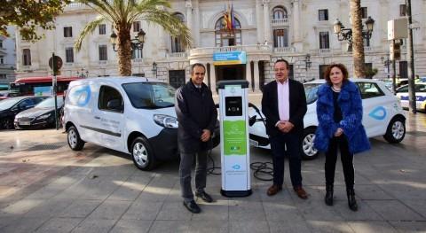 Presentados Valencia 18 nuevos vehículos ecológicos combatir cambio climático