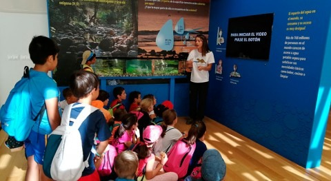 800 alumnos han participado programa Educación Ambiental CHT octubre