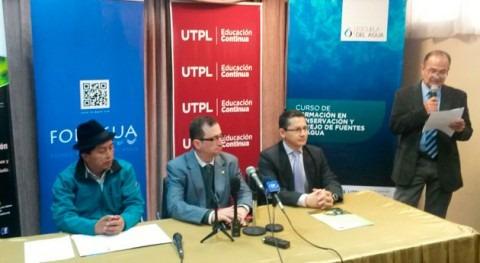 Ecuador apuesta formación conservación y manejo fuentes agua