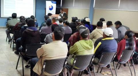Gobierno ecuatoriano capacita prestadores servicio agua potable Azuay y Cañar
