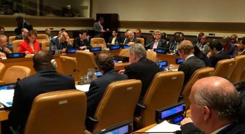España presenta visión agua Consejo Seguridad Naciones Unidas