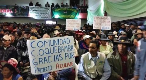 Gobierno Perú invierte cerca 114 millones dólares obras riego Espinar
