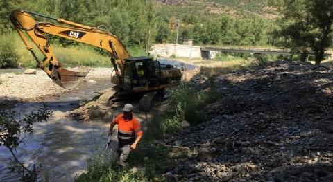 Se inicia mejora estación aforos río Gállego Sabiñánigo