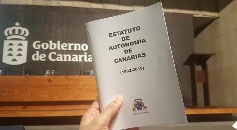 derecho especial y competencias materia aguas asumidas Canarias