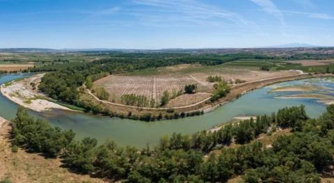 """Se inicia restauración ambiental paraje """" Estajao"""" Alfaro, Rioja"""