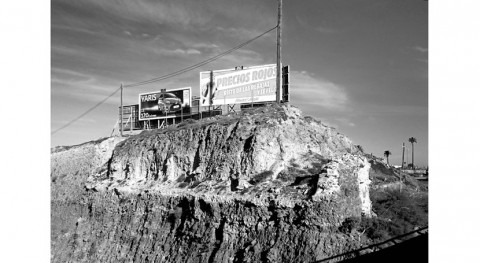 Estanque petrificado escombros trinchera San Lázaro #GranCanaria