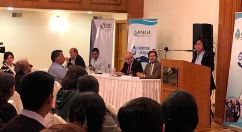 Gobierno boliviano presenta estrategia nacional agua y saneamiento área rural