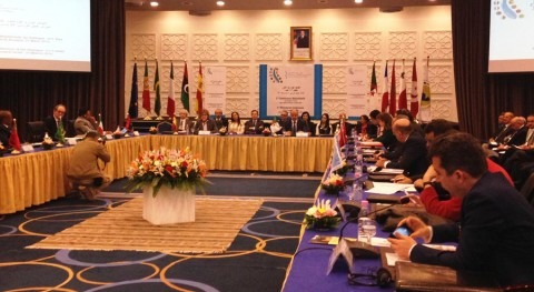 Reunión de los países del Diálogo 5+5 en ARgel