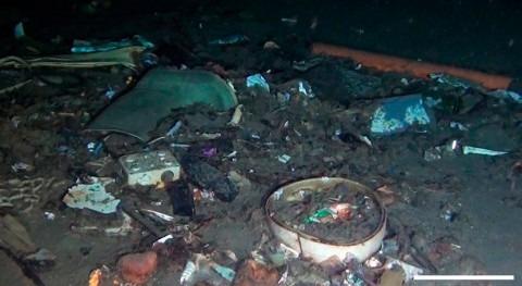 fondos oceánicos, grandes vertederos desechos