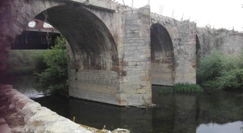 URA retoma acondicionamiento hidráulico puente Abetxuko Vitoria