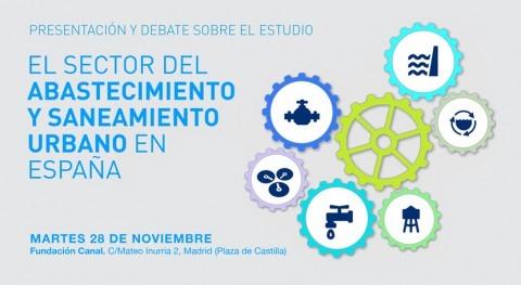 Estudio IMDEA Agua Fundación Canal abastecimiento y saneamiento urbano España