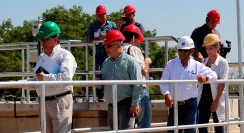 Recorrido nueva planta tratamiento agua Coronel Oviedo