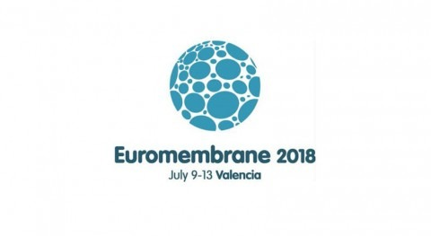 "DAM, patrocinador conferencia internacional ""EuroMembrane 2018"" Valencia"
