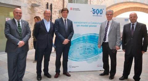 500 depuradoras Cataluña protagonizan exposición saneamiento Girona