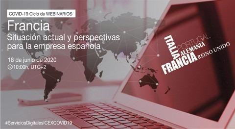 Webinario Francia-Covid19: situación actual y perspectivas empresa española