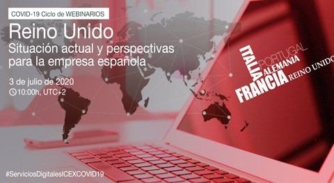 Webinario Reino Unido-Covid19: situación actual y perspectivas empresa española