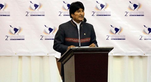 Evo Morales destituye responsables públicos Agua y encarga nuevo plan sequía