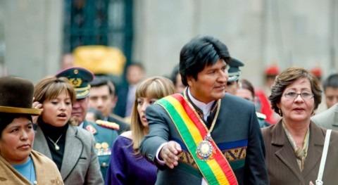 """demandas Chile río Silala son """"acciones paz"""", Evo Morales"""