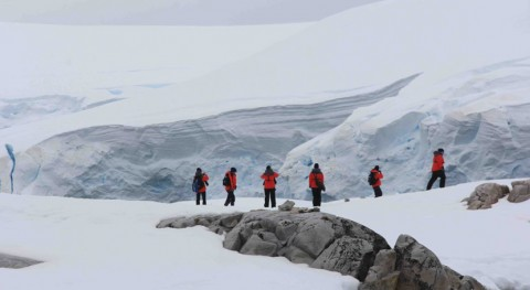 hielo Antártida se redujo Pleistoceno temperaturas similares actuales