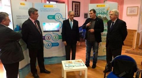 Confederación Hidrográfica Cantábrico inaugura exposición Planes Sequía