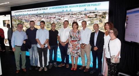 Quart Poblet inaugura exposición gestión agua comarca