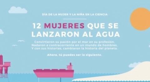 Fundación Aquae visibiliza mujeres referentes STEM que revolucionaron ciencias mar