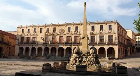 Aprovechamiento agua lluvia riego huertos municipales Ayuntamiento Soria