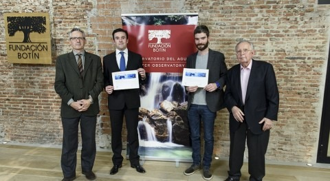 Alejandro Maceira, director iAgua, recibe Premio al Talento Joven Fundación Botín