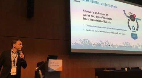 proyecto Zero Brine organiza jornada European Water Innovation Conference