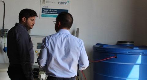 FACSA habilita Nules planta piloto tratar agua mediante electrocloración