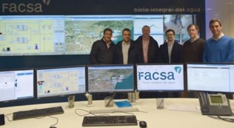Ayuntamiento Alcalà Xivert visita Centro Control y Aula Didáctica FACSA