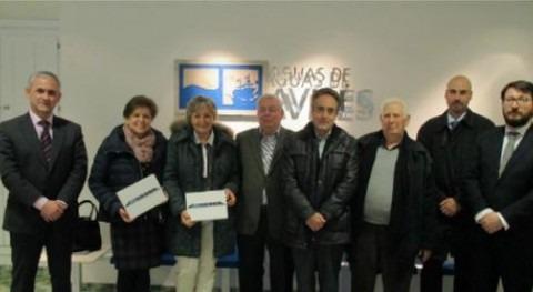 """Aguas Avilés premia clientes adheridos """"Factura papel"""""""
