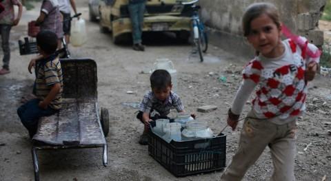 marcha reanudación suministro agua Damasco